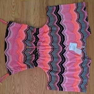 Brand New w/ tags crochet Cabana v neck dress